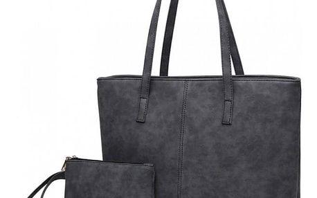 SET: Dámská černá kabelka Christi 1769