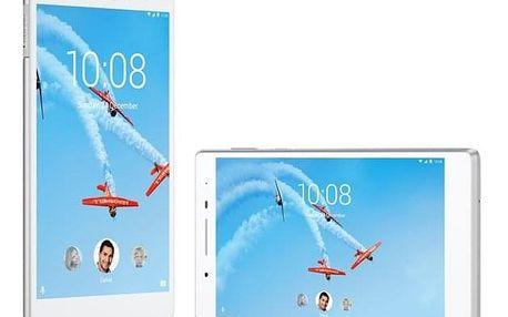 Dotykový tablet Lenovo TAB4 7 Plus 16GB LTE bílý + dárek (ZA380133CZ)