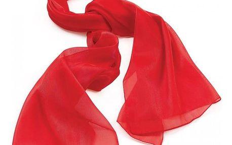 Dámský červený šátek Helen 29071