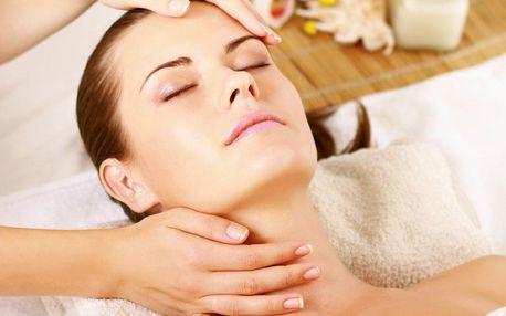 Kosmetické ošetření včetně masáže
