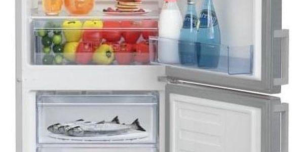 Chladnička s mrazničkou Beko CSA 240 M21X nerez3