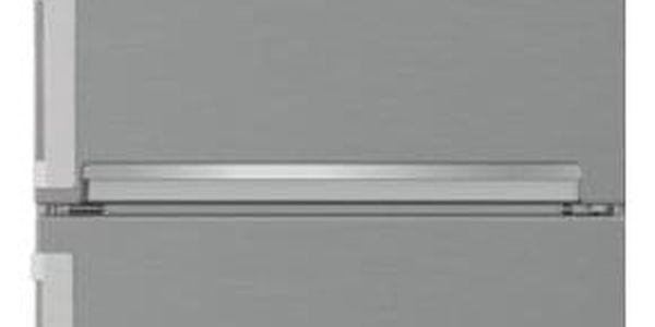 Chladnička s mrazničkou Beko CSA 240 M21X nerez4