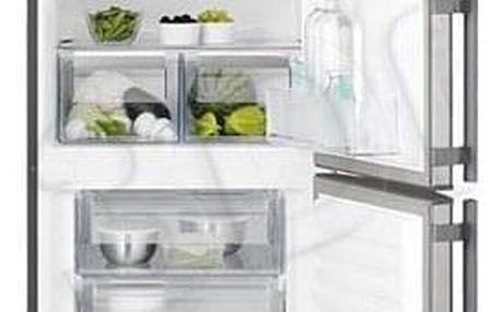 Chladnička s mrazničkou Electrolux EN3201MOX šedá/nerez