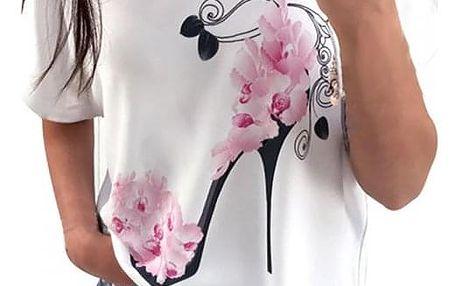 Dámské tričko s krátkým rukávem Fancy