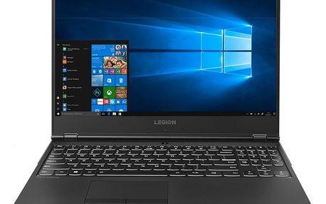 Notebook Lenovo Legion Y530-15ICH černý + dárek (81FV001BCK)