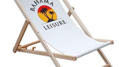 Tradgard Bahama 41493 Klasické dřevěné lehátko