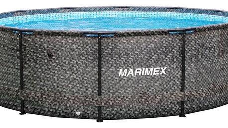 Marimex | Bazén Florida 3,66x0,99 m bez filtrace - motiv RATAN | 10340213