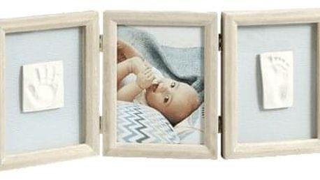 BABY ART Dvojitý rámeček na otisky + foto – Stormy