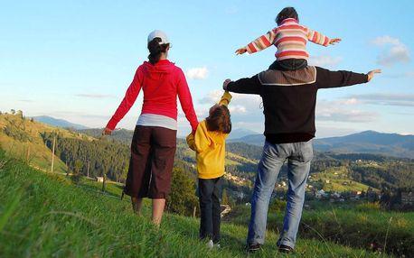 Aktivní dovolená v Krkonoších pro celou rodinu