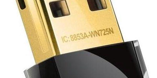 TP-Link TL-WN725N černý (TL-WN725N)
