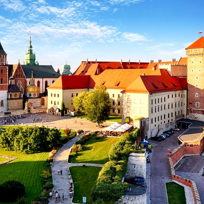 Moderní ubytování v Krakově se snídaní a saunou