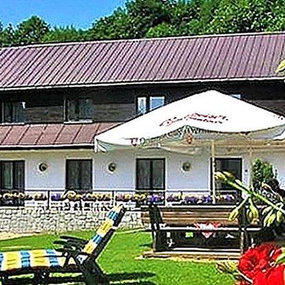 Ubytování v Penzionu Vápenka s wellness, polopenzí, s certifikátem baby friendly.