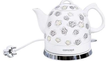 Rychlovarná konvice Concept RK-0010 bílá
