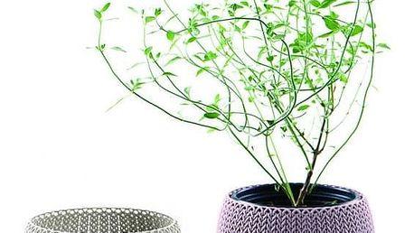 Keter COZIES TRIO 41417 Sada designových plastových květináčů