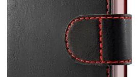 Pouzdro na mobil flipové FIXED FIT pro Apple iPhone 5/5s/SE černé (FIXFIT-002-BK)
