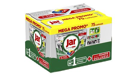 JAR Platinum Plus Yellow 75 ks Megabox – kapsle do myčky
