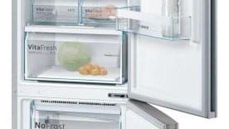 Chladnička s mrazničkou Bosch KGN39VL35 Inoxlook