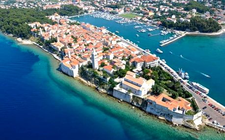 Chorvatsko s plnou penzí a wellness