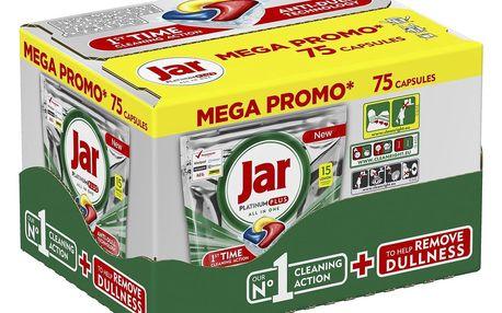 JAR Platinum Plus Yellow 75 ks Megabox – kapsle do myčky