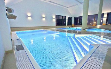 Polsko, luxusní hotel Nowy Zdrój s neomezeným wellness a polopenzí kousek od hranic