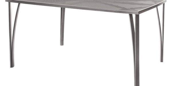 Happy Green Zahradní ocelový stůl, 150 x 90 cm
