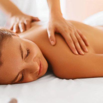 Hodina jen pro vás: relaxační masáž celého těla