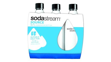 SodaStream Lahev SOURCE/PLAY 3Pack 1l černé/plast