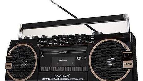 Ricatech PR1980 Ghettoblaster černý