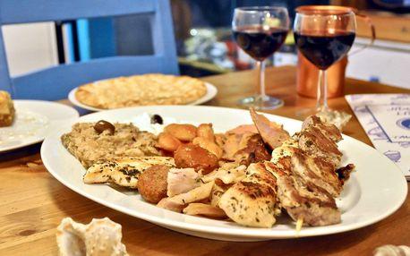 Řecká kuchyně: degustační talíře pro 2 osoby