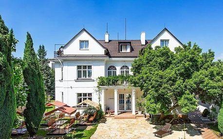 Romantický pobyt ve vilové části Prahy