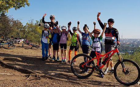 Jednodenní bike kurzy v terénu pro děti i dospělé
