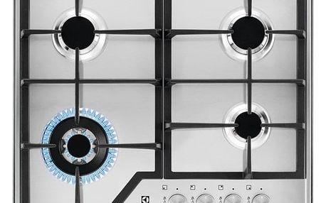 Plynová varná deska Electrolux KGS6436SX nerez