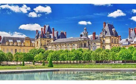 Paříž a zámky Fontainebleau, Vaux-le-Vicomte (6 dní: 3x snídaně a hotel)