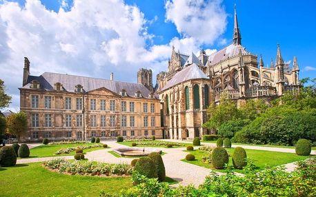 5-denní Paříž s Remeší a Versailles se snídaní v hotelu