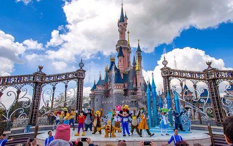 Paříž a Disneyland - Eiffelova věž, mořský svět (5 dní (2x snídaně a hotel))