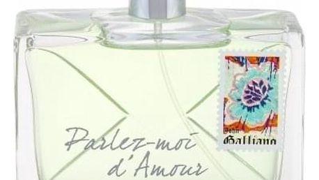 John Galliano Parlez-Moi d´Amour Eau Fraiche 80 ml toaletní voda tester pro ženy
