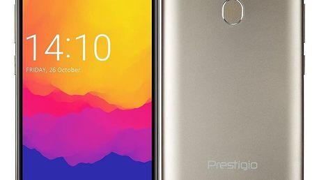 Mobilní telefon Prestigio Muze H5 LTE Dual SIM (PSP5523DUOGOLD) zlatý