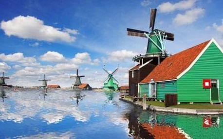 5-denní poznávací zájezd Amsterdam, Zaanse Schans, Delft