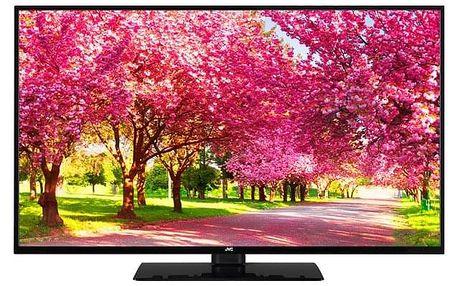 Televize JVC LT-49VU63L černá