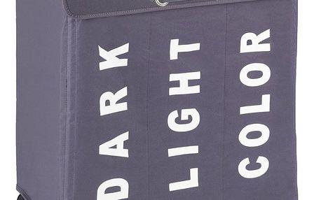 Kontejner na špinavé prádlo TRIVO GREY - až 116 l, WENKO