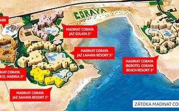 Hotel Madinat Coraya Jaz Dar El Madina Resort, Marsa Alam, letecky, all inclusive2