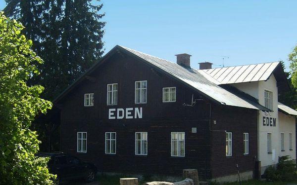 Penzion Eden v Harrachově s polopenzí, platnost až do 3.11.2019