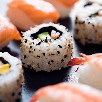 Smlsněte si na sushi: 4 sety vč. vegetariánského
