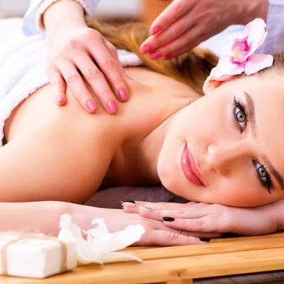 Pohoda a relax: hodinová masáž výběrem z 5 druhů