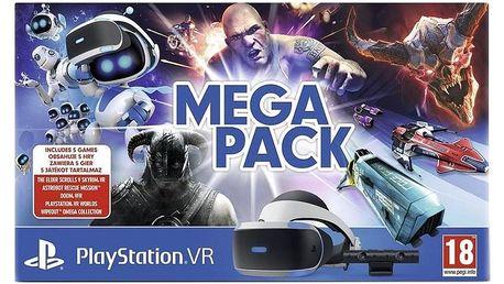 Sony PlayStation VR + kamera + 5 her (VR Worlds, Skyrim, Doom, Astrobot, Wipeout) (PS719786313)