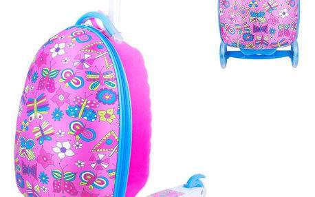 Dětská koloběžka s kufříkem WORKER Lagy Barva Candy