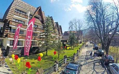 Polské Tatry v 3* penzionu s wellness, fitness a snídaní/polopenzí + platnost do dubna 2020