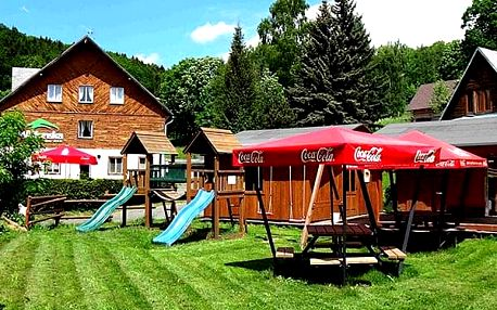 Pobyt v Krkonoších pro dva s polopenzí, multifunkční hřiště, venkovní bazén, vyžití pro děti.