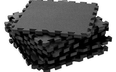 BABYDAN Hrací podložka puzzle Grey 90x90 cm