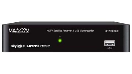 Mascom MC280HD-IR v HD černý